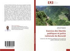 Portada del libro de Exercice des libertés publiques et police nationale du Burundi