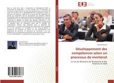 Copertina di Développement des compétences selon un processus de mentorat