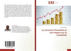 Capa do livro de La structure financière et son impact sur la rentabilité
