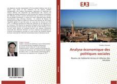 Bookcover of Analyse économique des politiques sociales