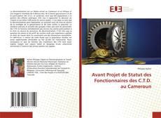 Bookcover of Avant Projet de Statut des Fonctionnaires des C.T.D. au Cameroun