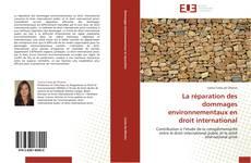 Borítókép a  La réparation des dommages environnementaux en droit international - hoz