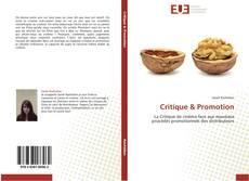 Portada del libro de Critique & Promotion