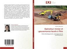 Couverture de Opérateur minier et gouvernance locale à Thio