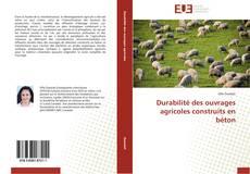 Copertina di Durabilité des ouvrages agricoles construits en béton