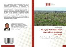 Bookcover of Analyse de l'interaction population-ressource naturelle