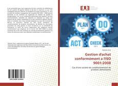 Bookcover of Gestion d'achat conformément a l'ISO 9001:2008
