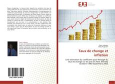Bookcover of Taux de change et inflation