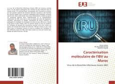Caractérisation moléculaire de l'IBV au Maroc kitap kapağı