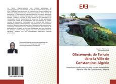 Buchcover von Glissements de Terrain dans la Ville de Constantine, Algérie