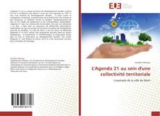 Couverture de L'Agenda 21 au sein d'une collectivité territoriale