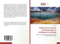 Portada del libro de Étude de la struvité: caractérisation et cinétique de séchage