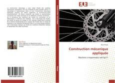 Construction mécanique appliquée kitap kapağı