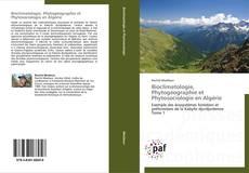Buchcover von Bioclimatologie, Phytogéographie et Phytosociologie en Algérie