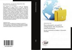Recrutement, accueil et intégration des étudiants internationaux kitap kapağı