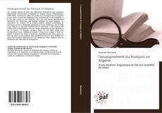 l'enseignement du français en Algérie kitap kapağı