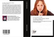 Обложка Le tabou linguistique: étude sociolinguistique