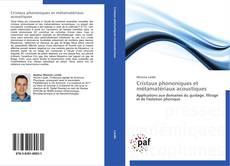 Обложка Cristaux phononiques et métamatériaux acoustiques