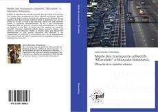 "Capa do livro de Mode des transports collectifs ""Microlets"" a Manado-Indonesie"