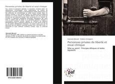 Capa do livro de Personnes privées de liberté et essai clinique