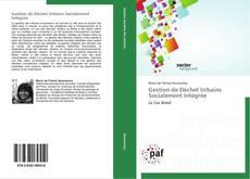 Gestion de Déchet Urbains Socialement Intégrée kitap kapağı