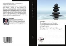 Couverture de Enseignement en ligne à l'université et spécificités disciplinaires