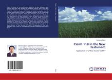 Copertina di Psalm 118 in the New Testament