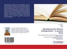 Couverture de Identifying the African Entrepreneur - a success story
