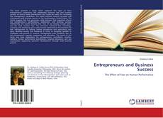 Bookcover of Entrepreneurs and Business Success