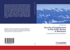 Security of Employment in the Public Service in Botswana的封面