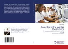 Portada del libro de Evaluating online learning environments