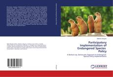 Buchcover von Participatory Implementation of Endangered Species Policy