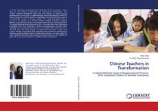 Chinese Teachers in Transformation kitap kapağı