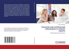 Bookcover of Financial and nonfinancial information in interim reports