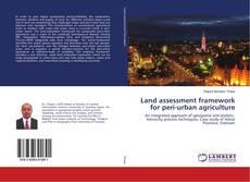 Bookcover of Land assessment framework for peri-urban agriculture