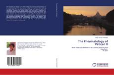 Bookcover of The Pneumatology of Vatican II