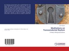 Bookcover of Meditations on Transcendental Realism