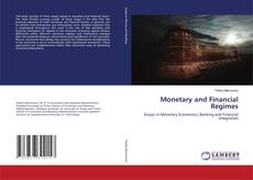 Couverture de Monetary and Financial Regimes
