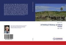Bookcover of A Political History of West Timor