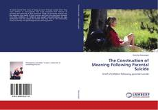 Buchcover von The Construction of Meaning Following Parental Suicide