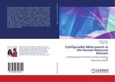 Bookcover of Configurable Meta-search in the Human Resource Domain