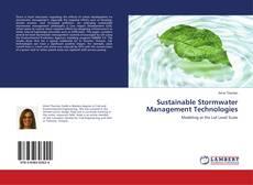 Portada del libro de Sustainable Stormwater Management Technologies