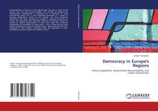 Bookcover of Democracy in Europe's Regions
