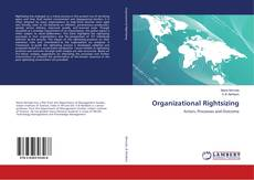 Bookcover of Organizational Rightsizing