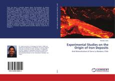Bookcover of Experimental Studies on the Origin of Iron Deposits