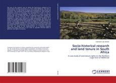 Portada del libro de Socio-historical research and land tenure in South Africa
