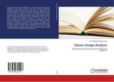 Bookcover of Stereo Image Analysis