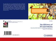 Bookcover of The Efficiency of TFT-LCD Industry