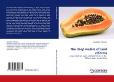 Capa do livro de The deep waters of land reforms
