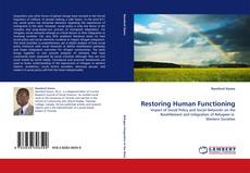 Bookcover of Restoring Human Functioning